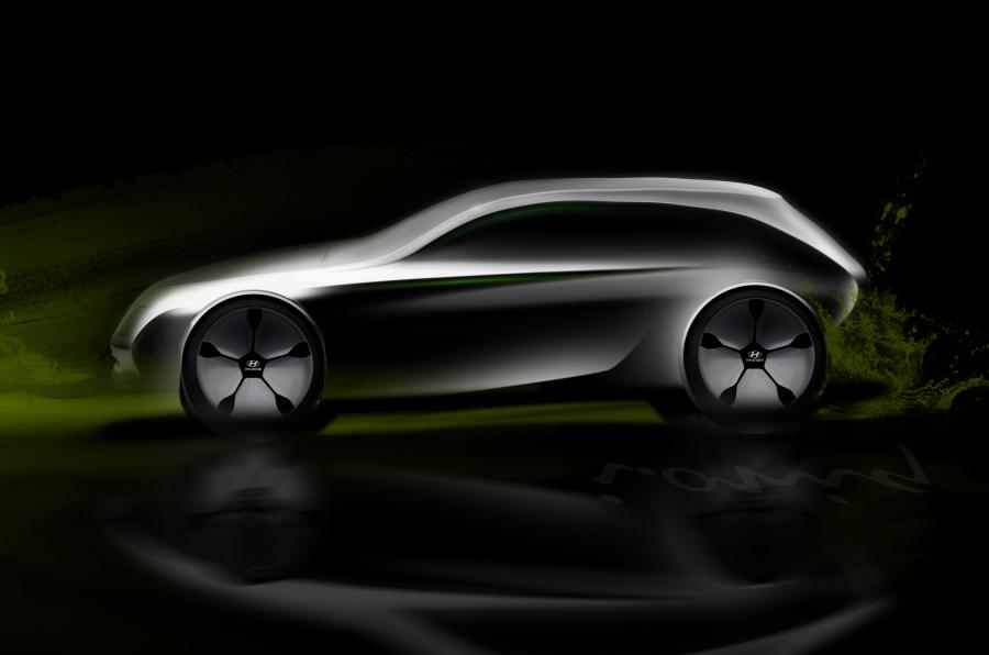 Hyundai FCV rendering