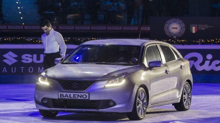 India-made Suzuki Baleno showcased in Italy