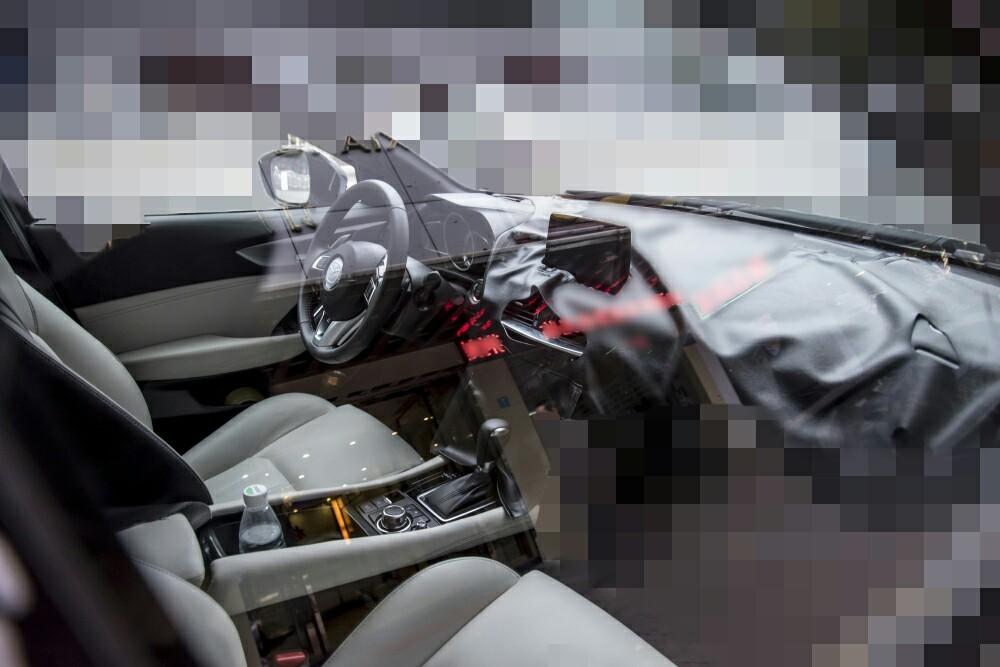 Mazda Koeru-based CX-4 interior snapped