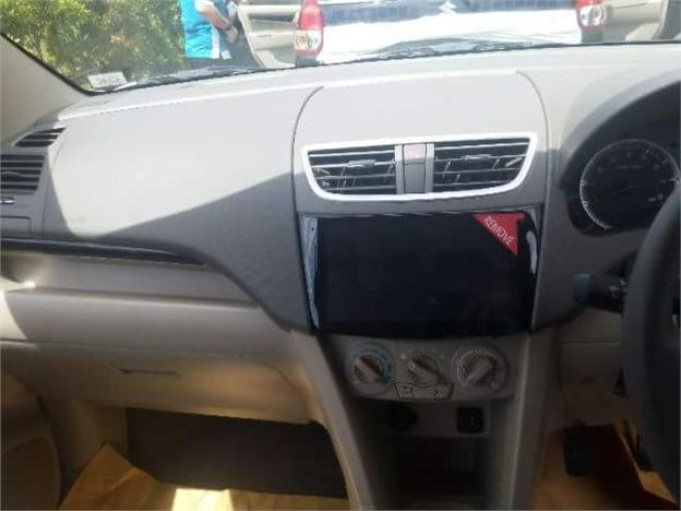 Suzuki Ertiga Dreza 9-inch touchscreen infotainment system spied