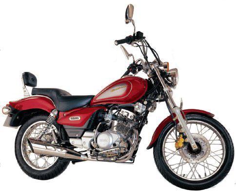 Yamaha Enticer red side