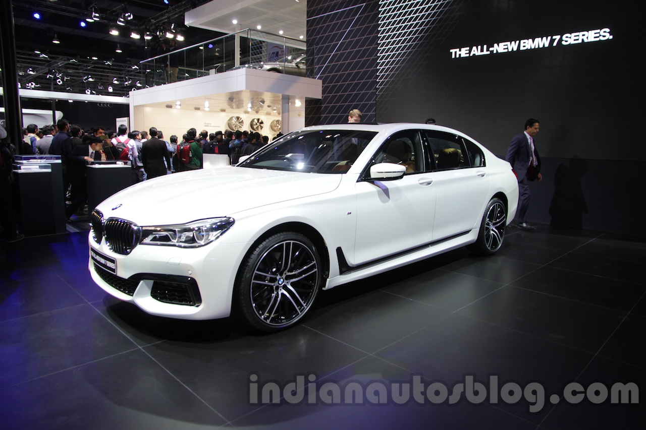 2016 Bmw 7 Series Launched At Inr 1 11 Cr Auto Expo 2016