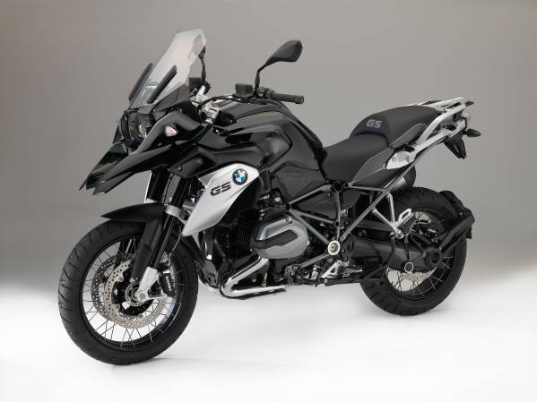 2016 BMW R1200GS front quarter