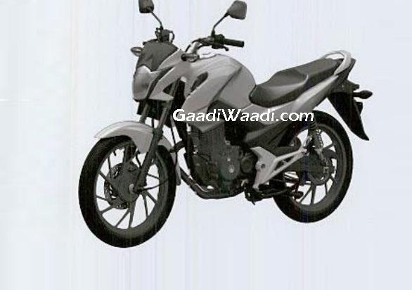 2016 Honda 150:160 cc commuter patent image leaked
