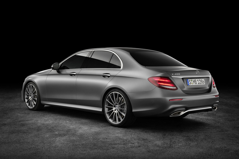 2016 Mercedes E Class rear quarter leaked