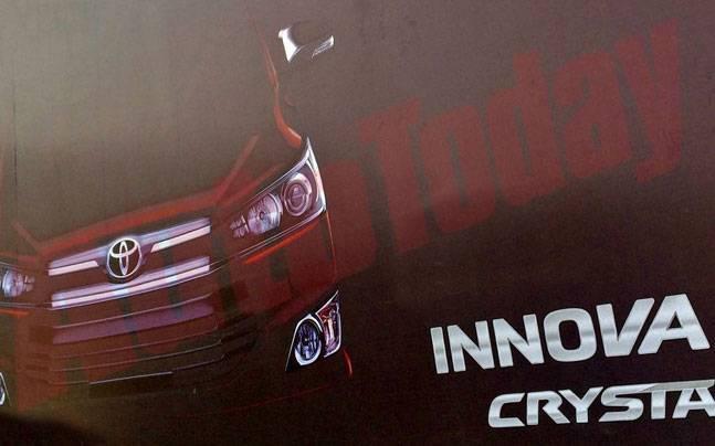 2016 Toyota Innova Crysta India