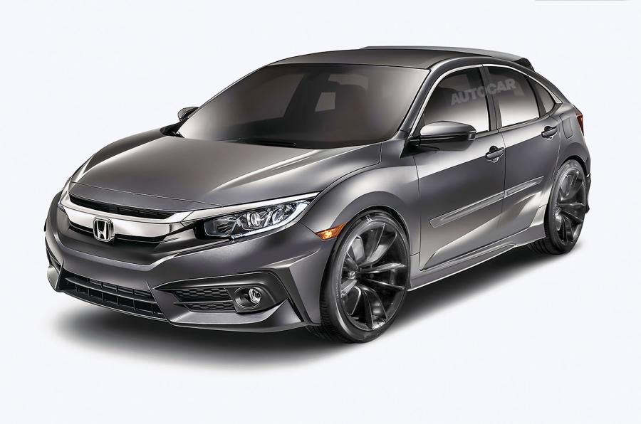 all new honda civic 5 door to arrive in late 2016 report. Black Bedroom Furniture Sets. Home Design Ideas