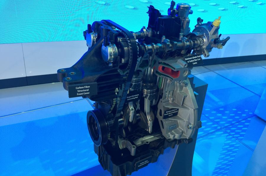Ford EcoBoost concept engine 2016 NAIAS