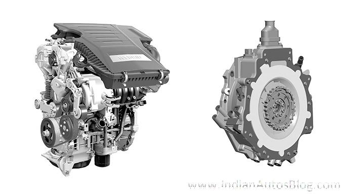 Hyundai Ioniq hybrid system