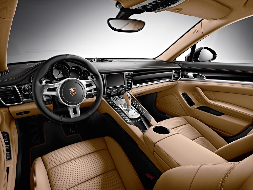 Porsche Panamera Diesel Edition interior launched in India
