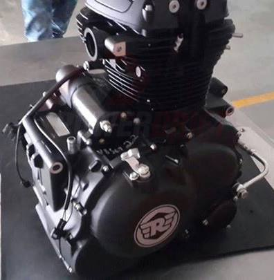 Royal Enfield Himalayan powertrain spied undisguised