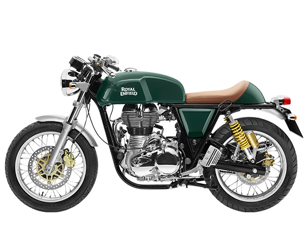 Royal Enfield continental gt green side