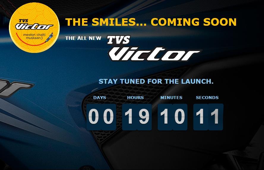 TVS Victor website teaser