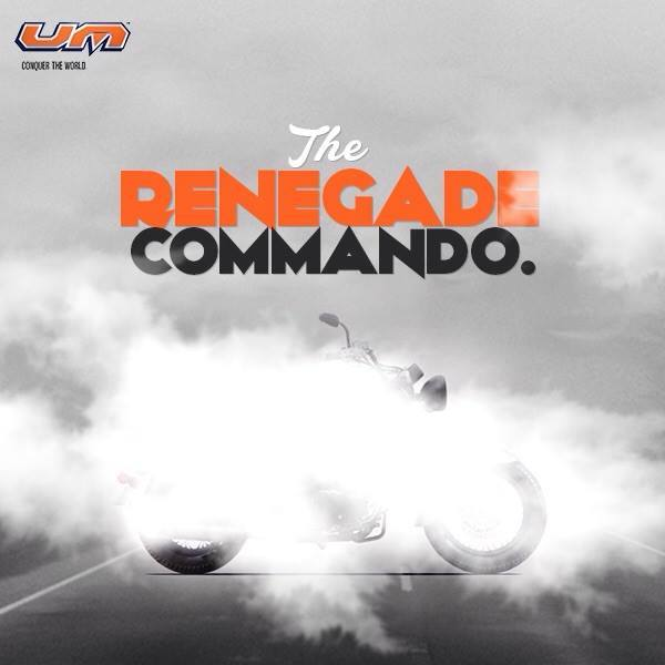 UM Renegade Commando India teaser