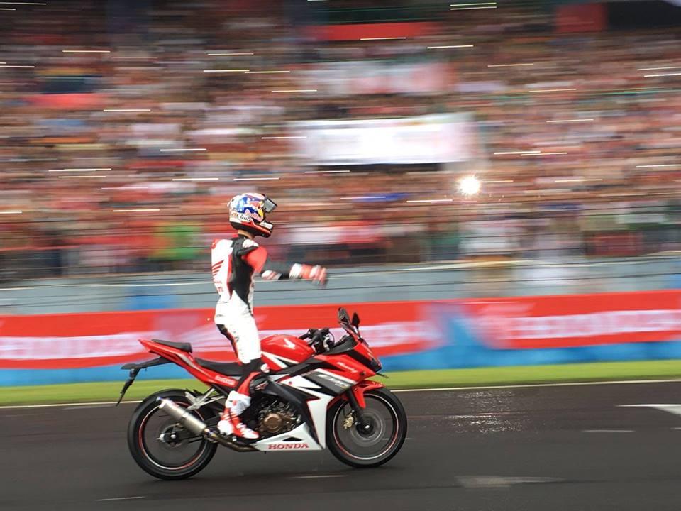 2016 Honda CBR150R at Sentul International Circuit