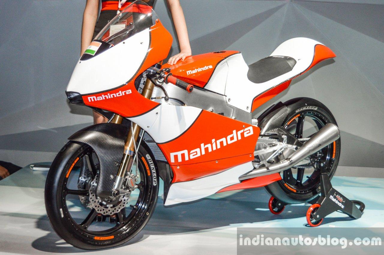 2016 Mahindra Moto3 Bike Mahindra Formula E Car Auto Expo