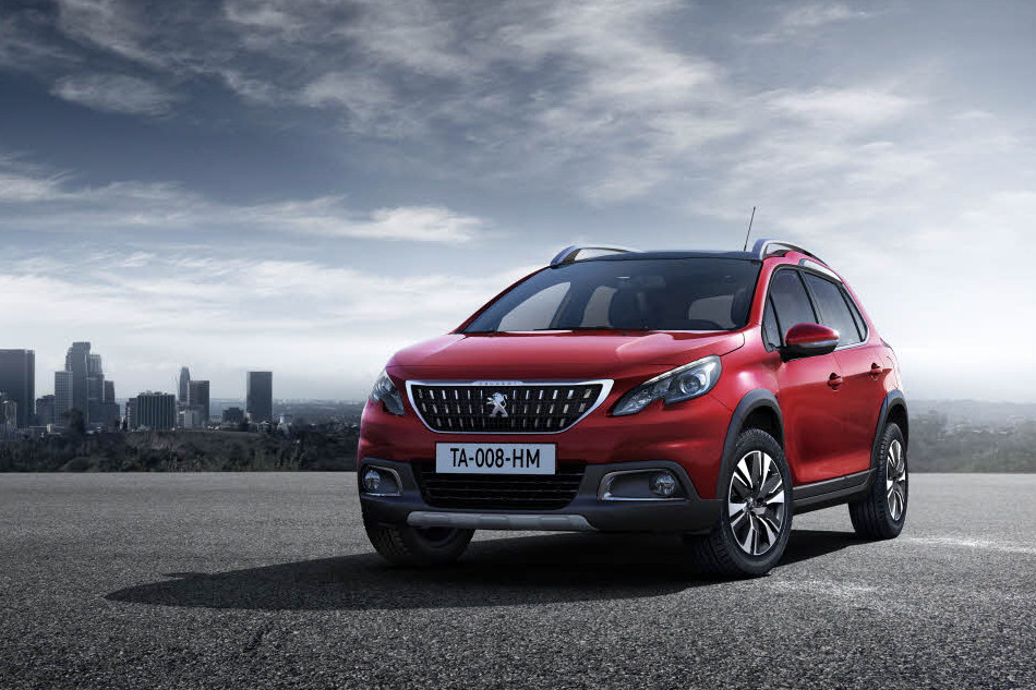 2016 Peugeot 2008 facelift press shot