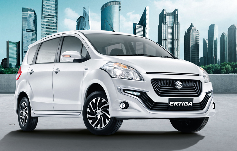 2016 Suzuki Ertiga Drezza front launched in Thailand