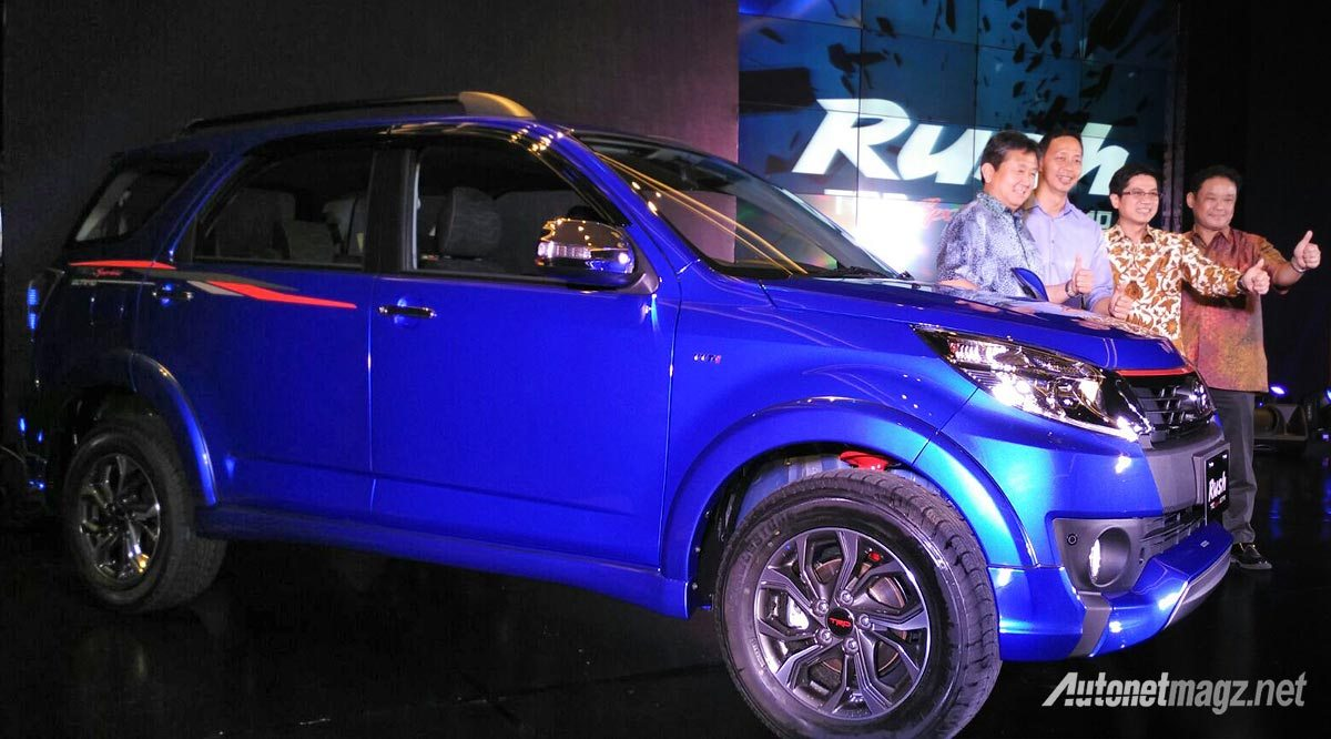 2016 Toyota Rush (facelift) side launched in Indonesia