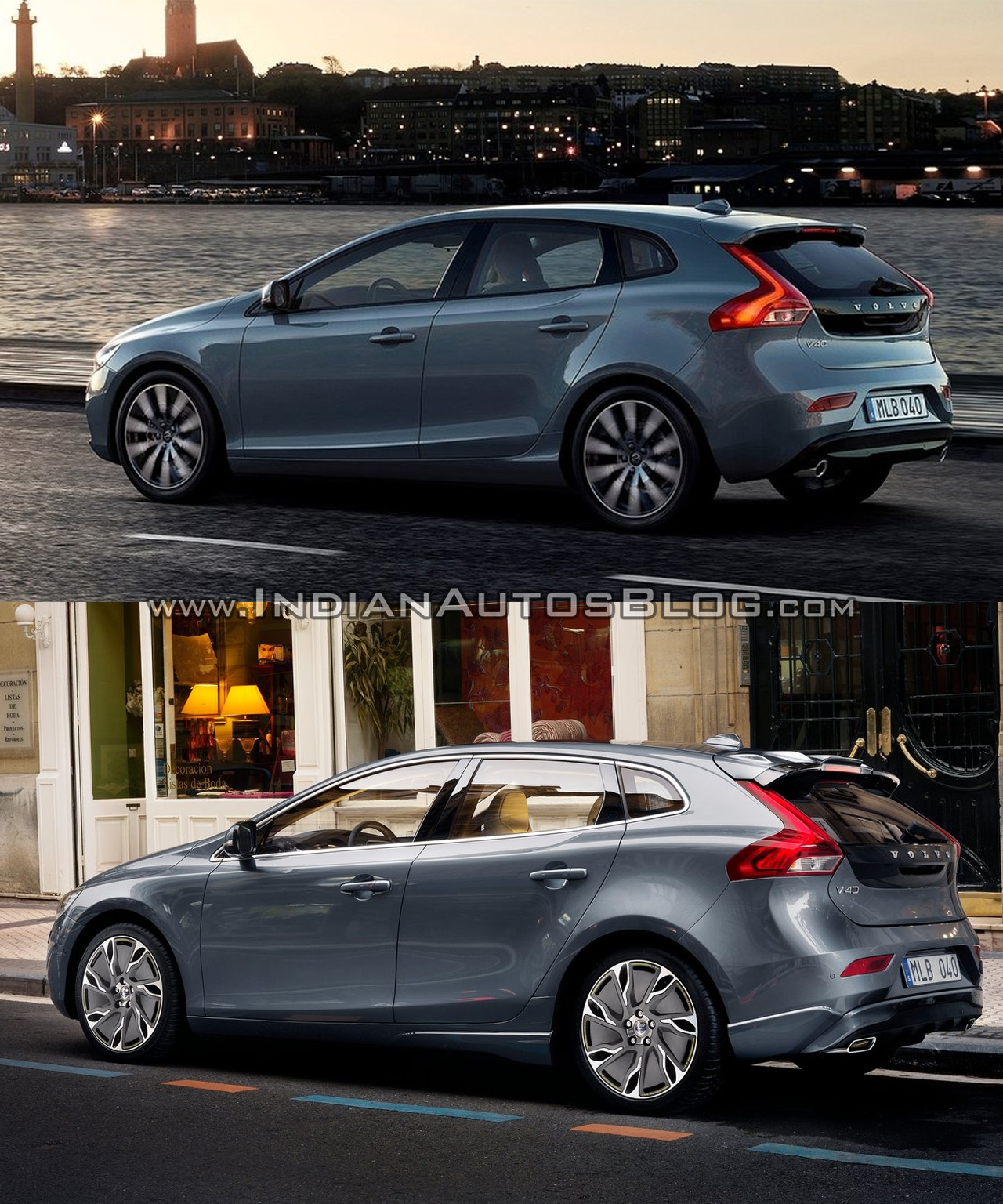 2016 Volvo V40 Facelift And Cross Country Old Vs New