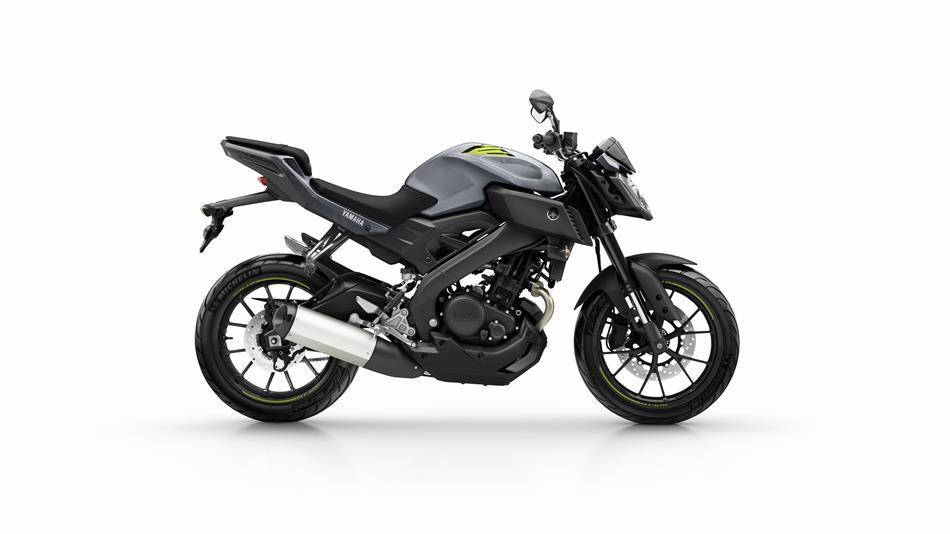 2016 Yamaha MT-125 side UK