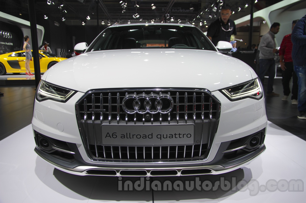 Good Audi A6 Allroad Quattro Front At 2016 Auto Expo