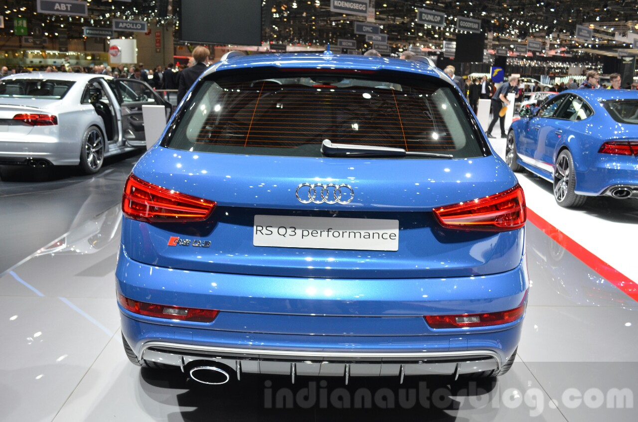 Audi RS Q3 Performance rear at 2016 Geneva Motor Show