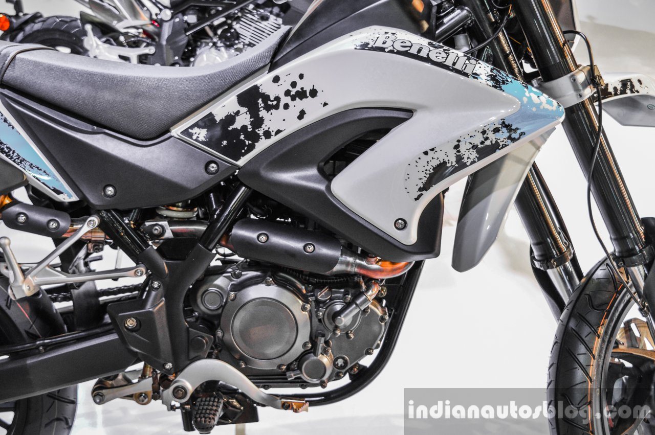 Benelli BX250 Engine At Auto Expo 2016