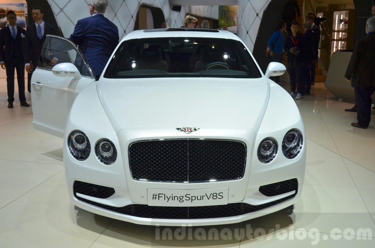 Bentley Flying Spur V8 S front at the 2016 Geneva Motor Show Live