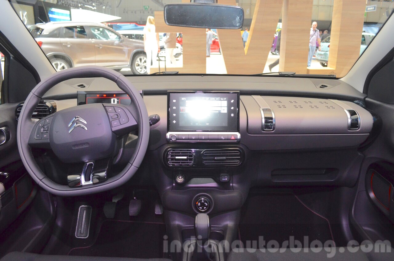 citroen c4 cactus rip curl dashboard at the 2016 geneva motor show live. Black Bedroom Furniture Sets. Home Design Ideas