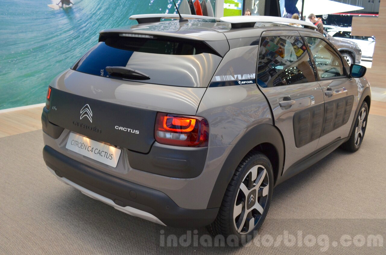 citroen c4 cactus rip curl rear quarter at the 2016 geneva motor show live. Black Bedroom Furniture Sets. Home Design Ideas
