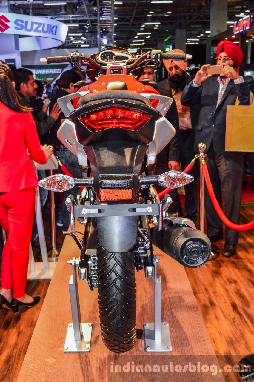 Hero Xtreme 200 S rear at the Auto Expo 2016