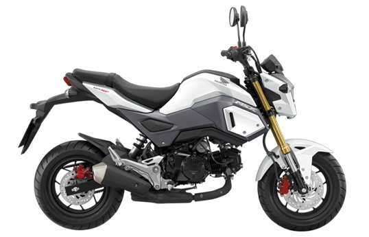 Honda MSX125SF Booster White