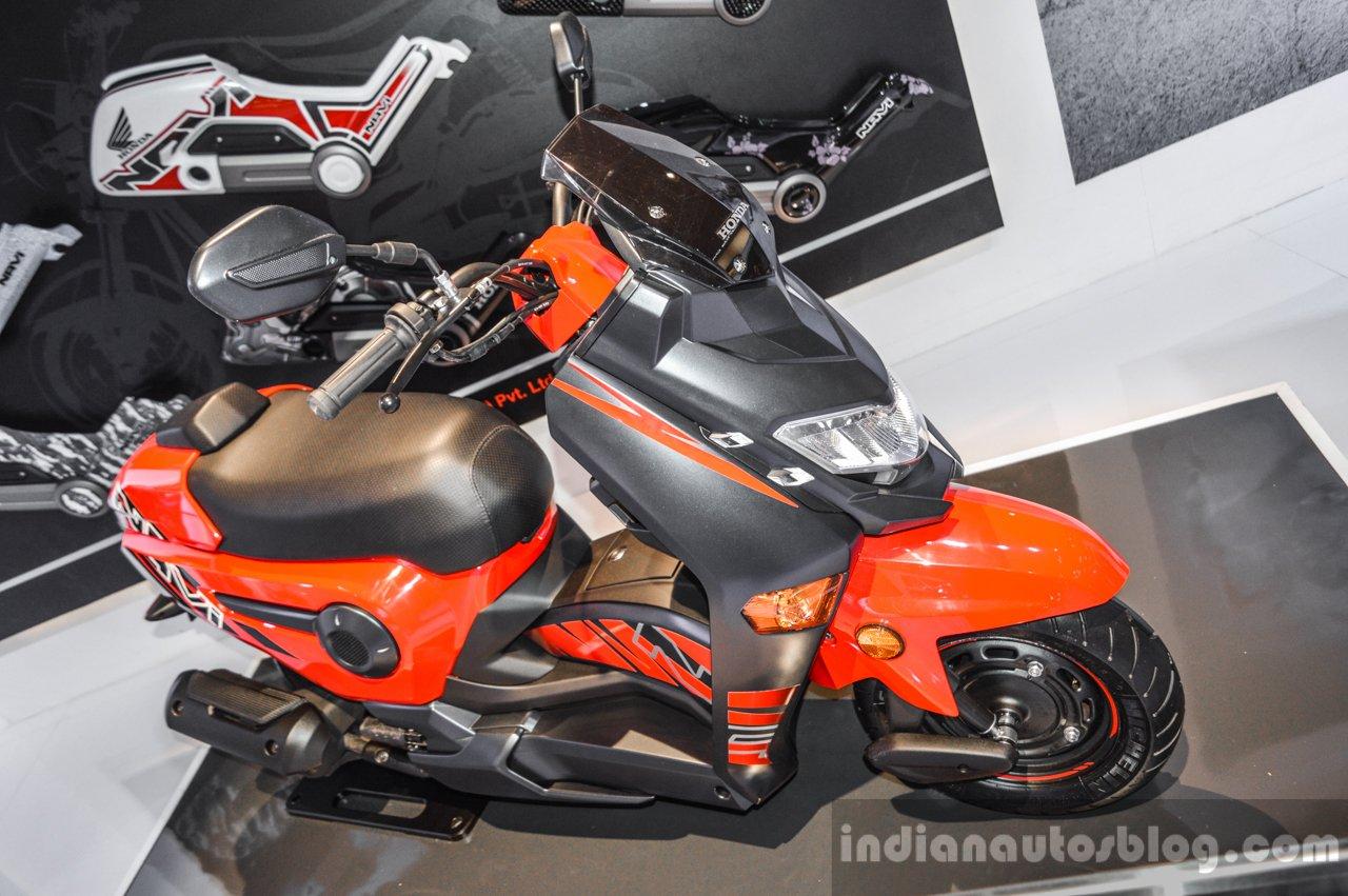 Honda navi design concept scooter front quarter at auto expo 2016 publicscrutiny Choice Image