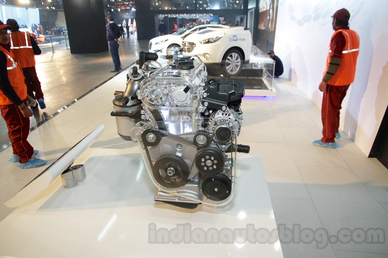 Hyundai 1L T-GDI Kappa, 1 4L T-GDI Kappa - Auto Expo Live
