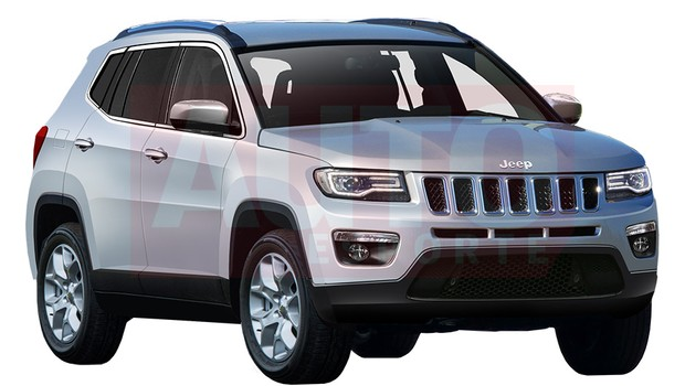 Jeep 551 front three quarters rendering
