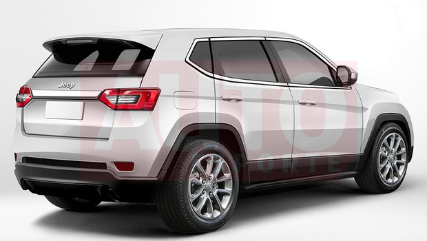 Jeep 551 rear three quarters rendering