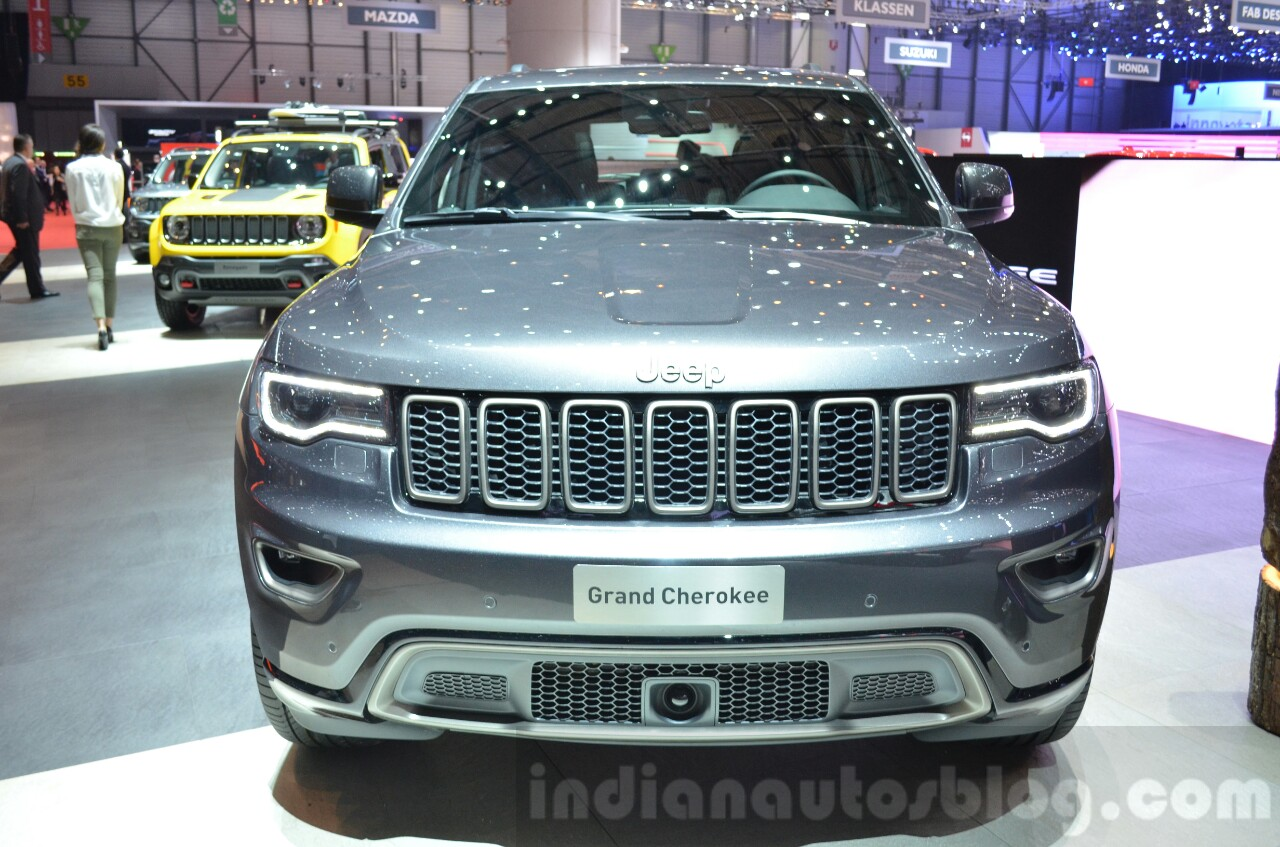 Jeep Grand Cherokee 75th Anniversary edition front at the 2016 Geneva Motor Show