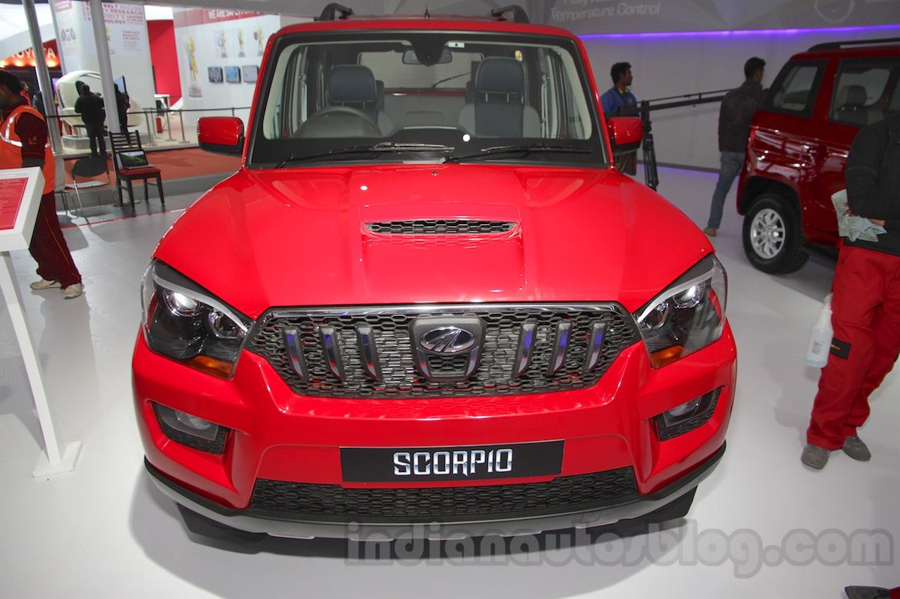 Mahindra Scorpio 1.99L diesel front Auto Expo 2016