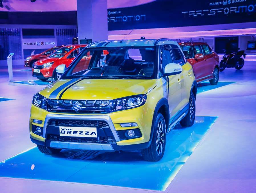 Maruti Vitara Brezza Custom front at Auto Expo 2016