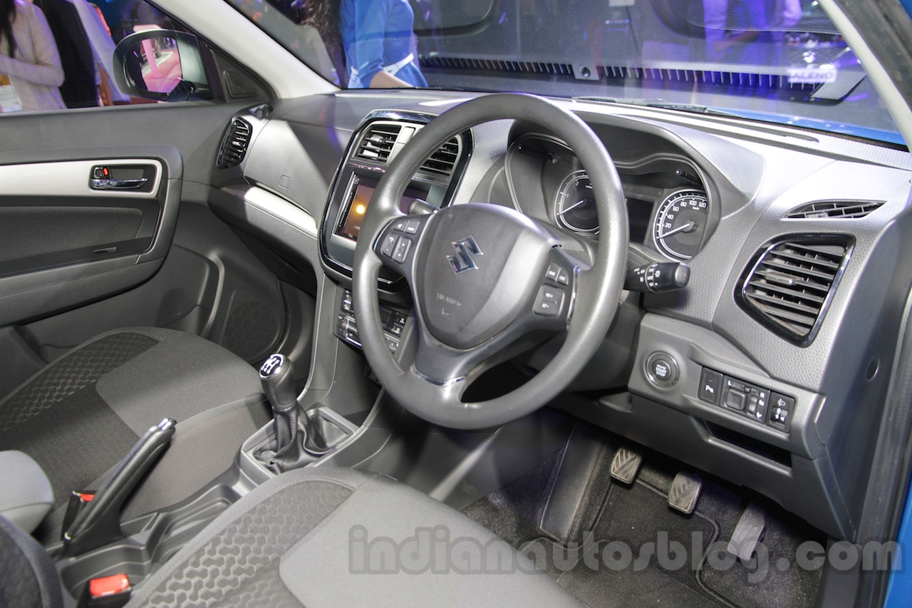 Brezza Car Interior Photos