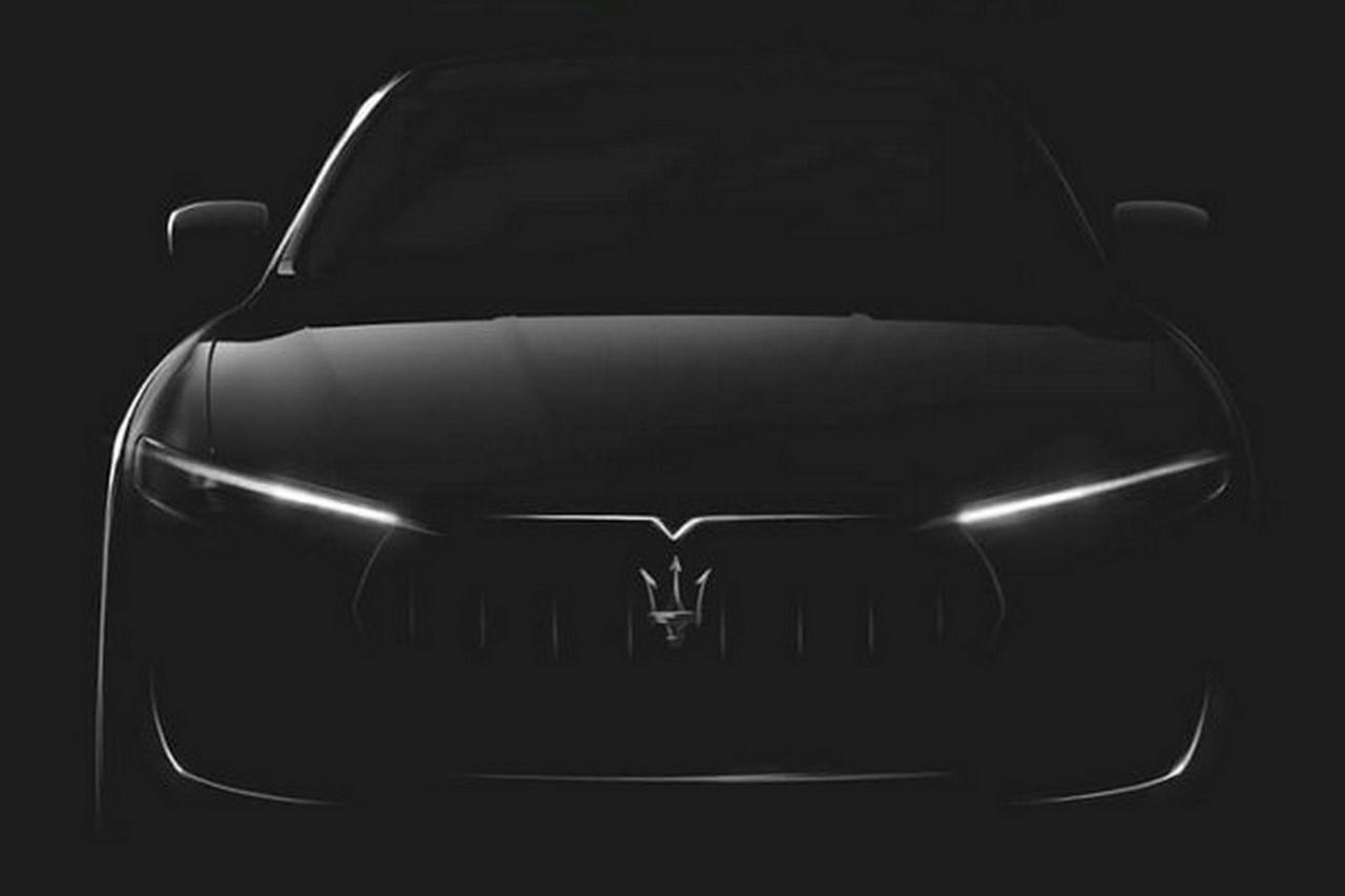 Maserati Levante teaser