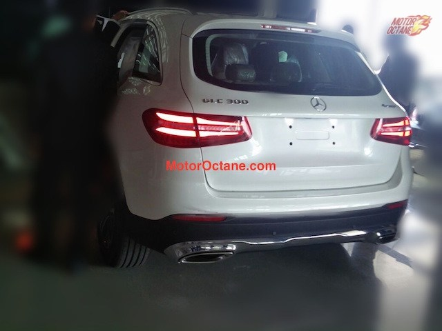 Mercedes GLC India spy shot