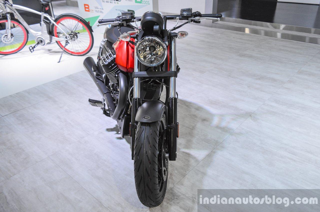 Moto Guzzi Audace front at Auto Expo 2016