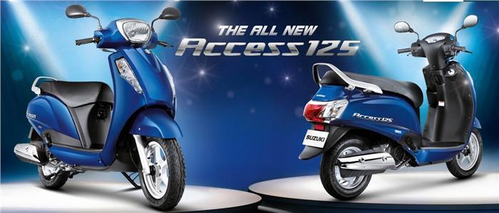 New Suzuki Access 125 leaked before debut