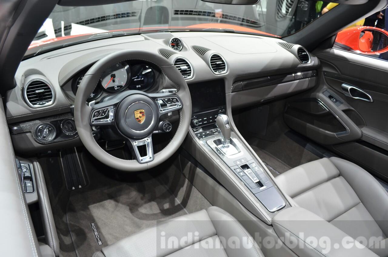 Porsche 718 Boxster Geneva Motor Show Live