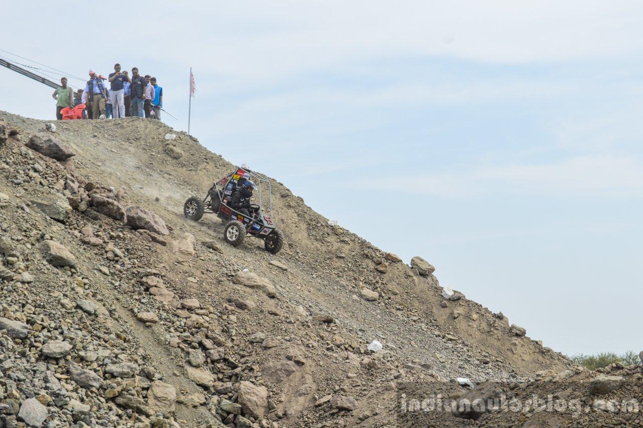 Slope downhill at Baja 2016