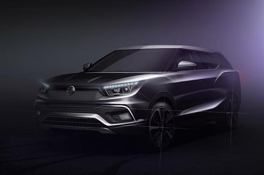 Ssangyong Tivoli XLV 7-seater teaser