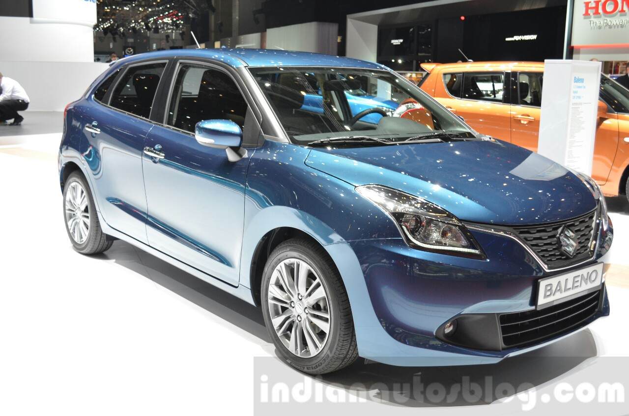 suzuki baleno 1 2 shvs geneva motor show live. Black Bedroom Furniture Sets. Home Design Ideas