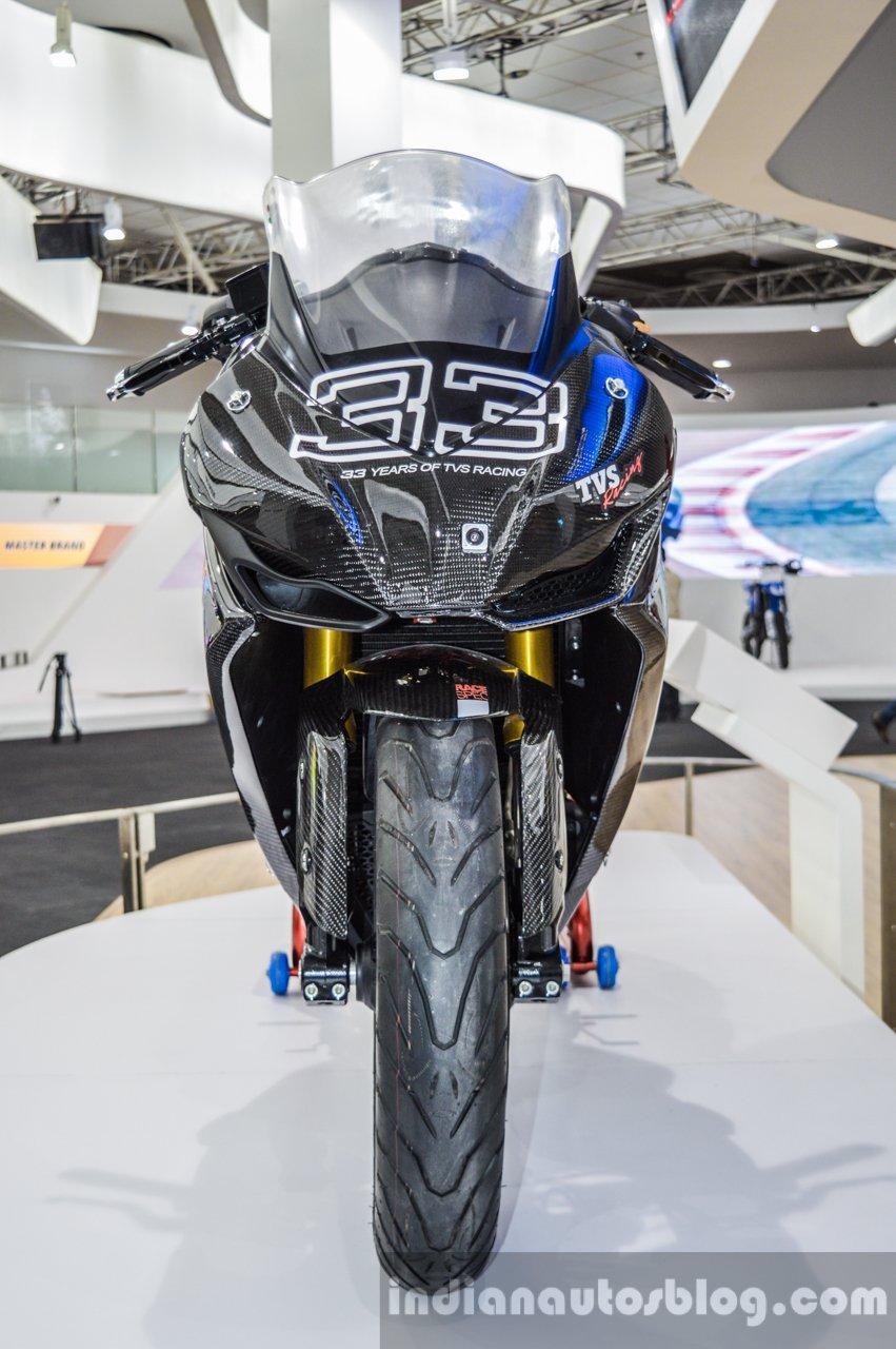 TVS Akula 310 front fairing 33 at Auto Expo 2016